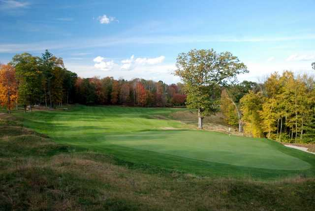 A view of the 3rd hole at Connecticut National Golf Club.