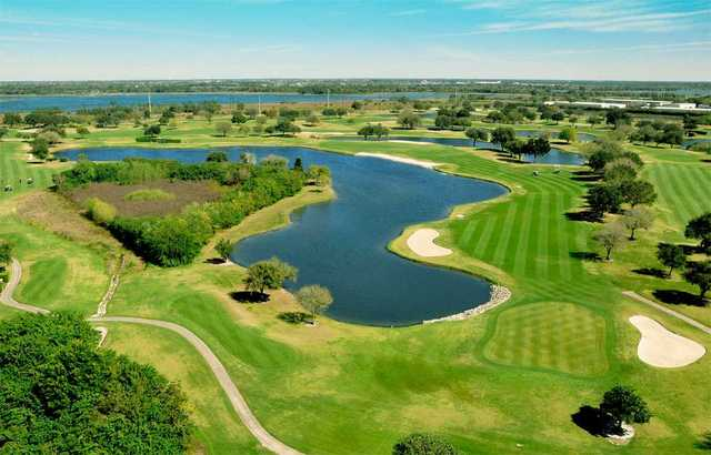 Aerial view from Tatum Ridge Golf Links