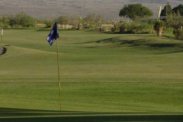 A view of a hole at White Sands Golf Course