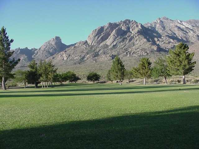 A view of a fairway at White Sands Golf Course