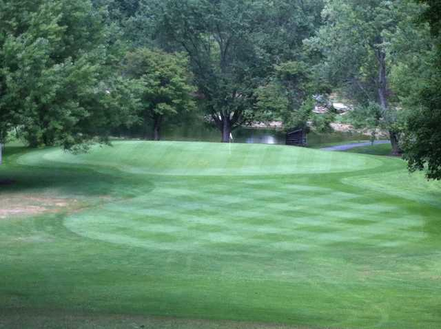 A view of a green at West Hill Country Club