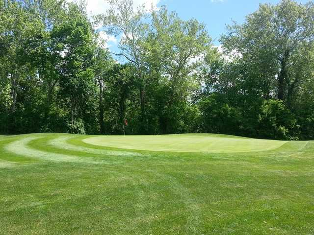 A view of a green at Gahanna Golf Course