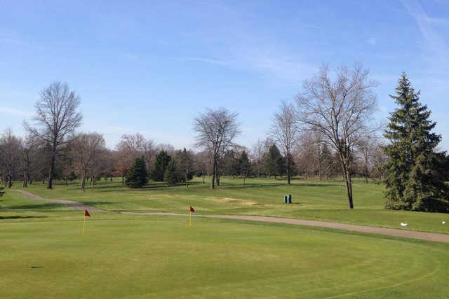 A view from Mill Creek Golf Club