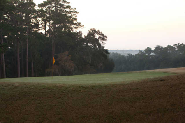 A view of a green at Capital City Country Club