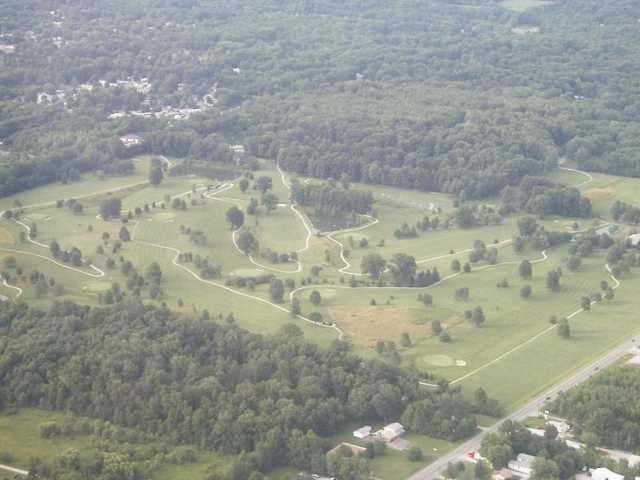 Aerial view of Eagles Nest Golf Course