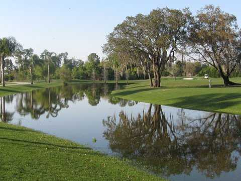 A view of the 6th hole at Lake Bess Country Club (Don Reichel&Jeff Vose)