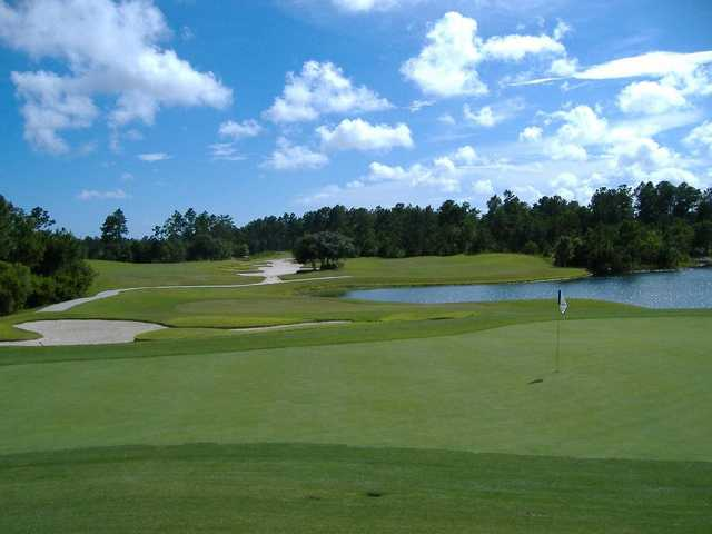 A view from #9 on the Ibis at Carolina National Golf Club