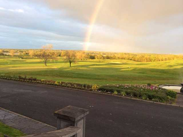 A view of the 3rd hole at Glenlo Abbey Golf Club