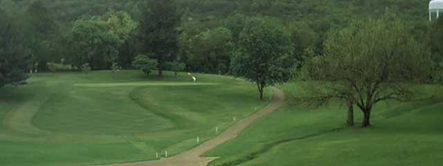 A view from Blue Hills Golf Course