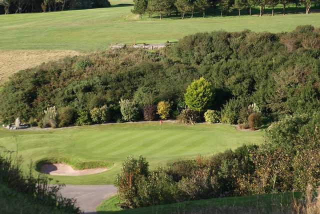 A view of the 16th hole at Milford Haven Golf Club