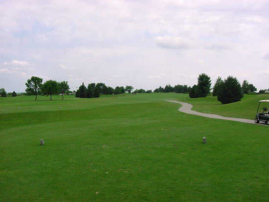 A view from tee #14 at Meadowlark Hills Golf Course