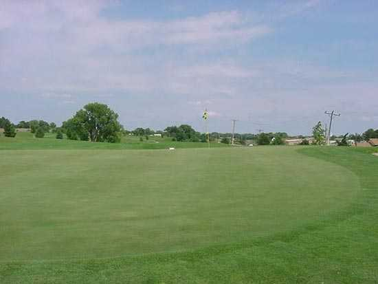 A view of hole #11 at Meadowlark Hills Golf Course