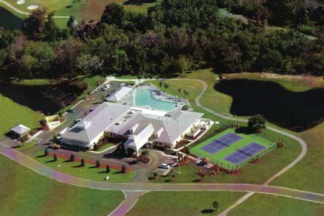 Aerial view from Riverside Golf Course