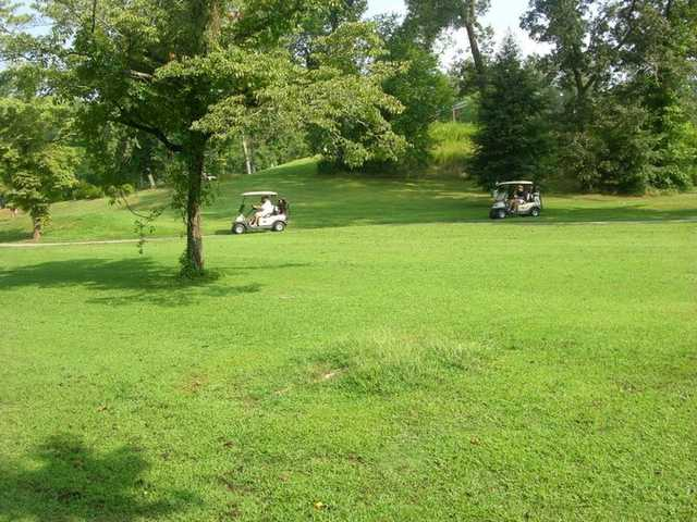 A view from a fairway at Franklin Golf Course