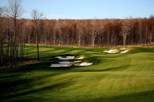 A view of fairway #3 at Lodestone Golf Club