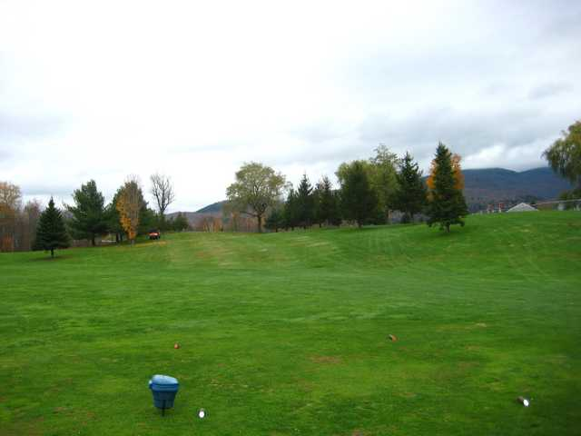 A view from tee #7 at West Bolton Golf Club
