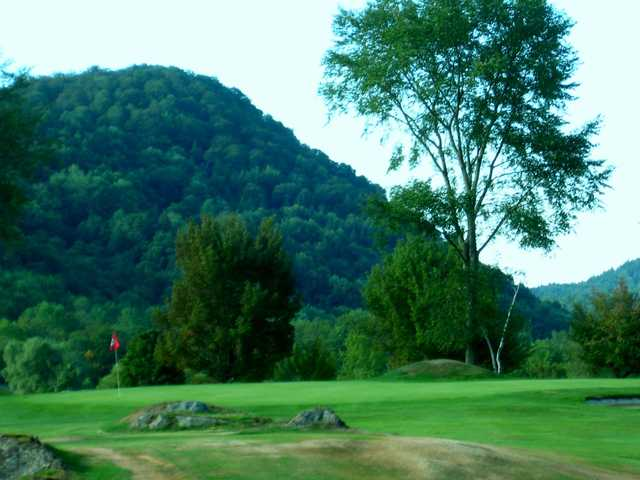 A view of green #10 at West Bolton Golf Club