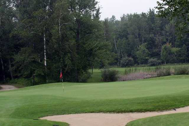 A view of a hole at Ubly Heights Golf Course