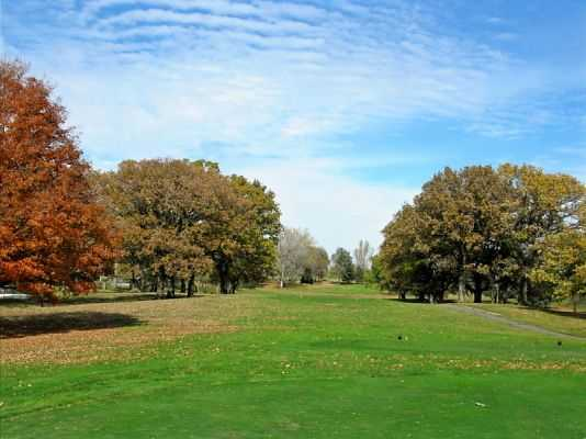 A fall view from Val Brooks Course from Brooks Golf Club
