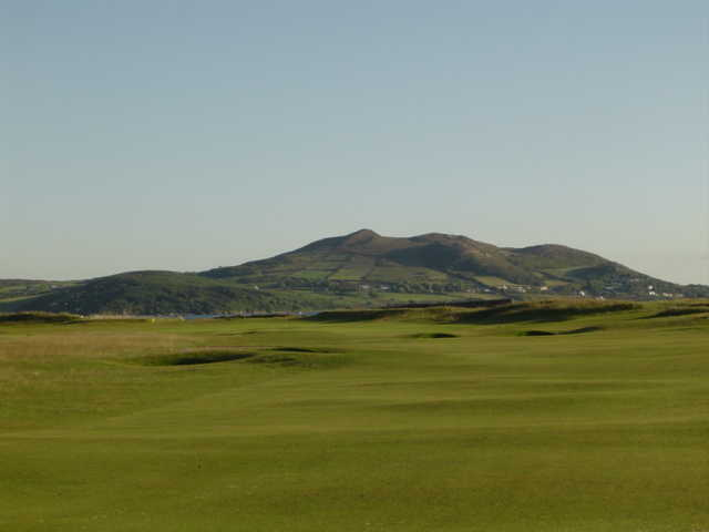 A view of the 2nd fairway at North West Golf Club