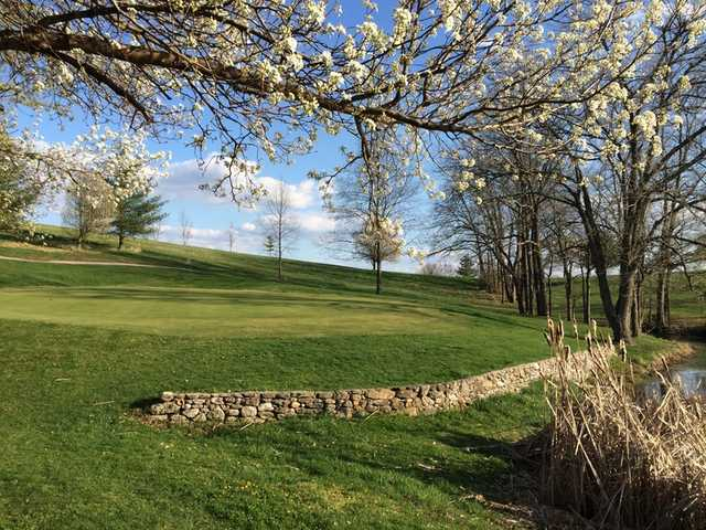 A spring view from Southwind Golf Course