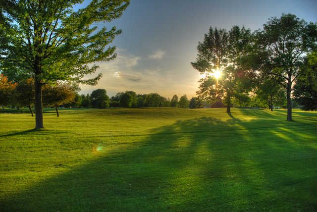 Sunset view from Saginaw Valley GC