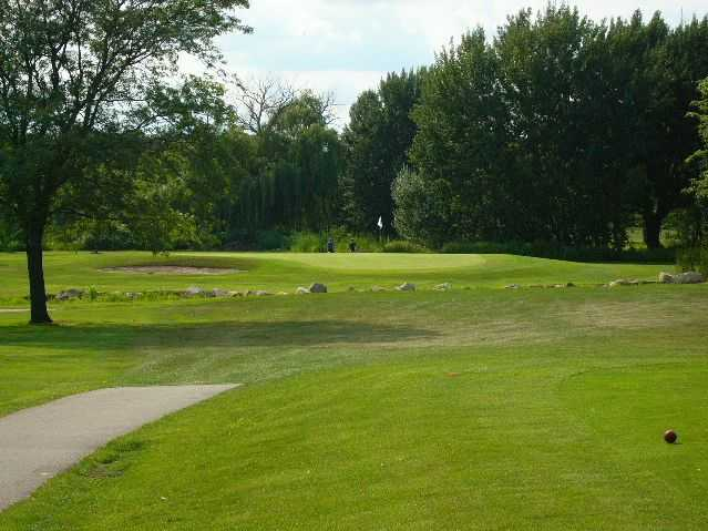 View of the 6th hole at Bliss Creek Golf Course