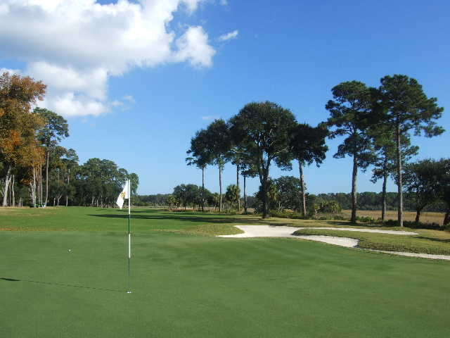 Jack Nicklaus at Colleton River Club: 5th hole