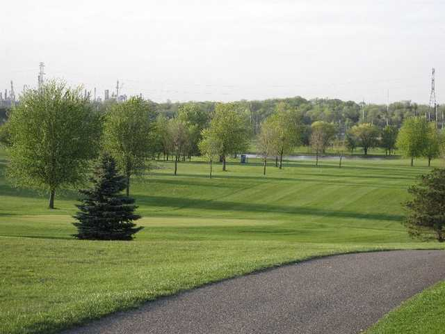 A view from the Rich Valley Golf Club