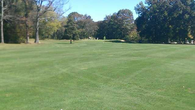 A view of the 7th fairway at Fox Hollow Golf Club