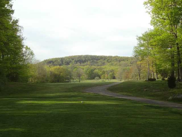 A view from tee #3 at Laurel View Country Club