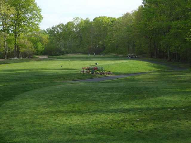 A view from the 2nd tee at Laurel View Country Club