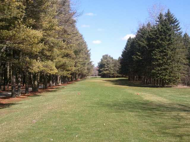 A view from a tee at Woodland Hills Golf Club