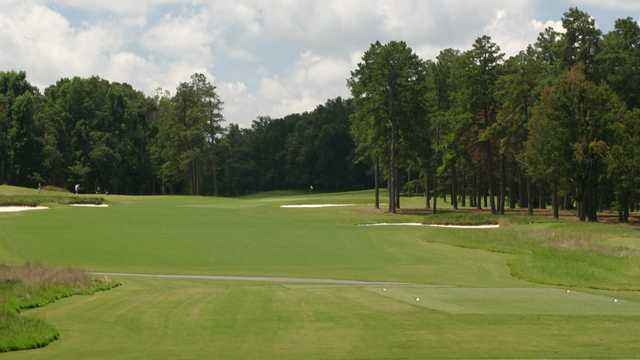 A view from a tee at Forest Oaks Country Club