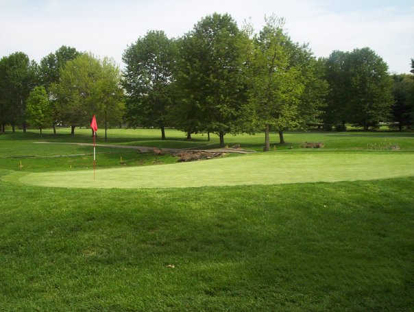 A view of a hole at Pennsauken Country Club