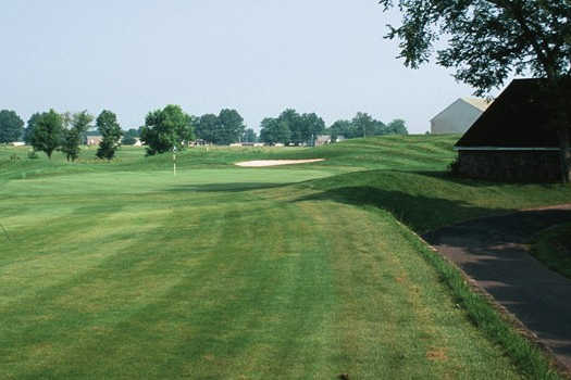 A view from a fairway at Turtle Creek Golf Club