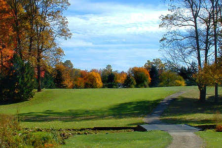 A fall view from Westwood Golf Club