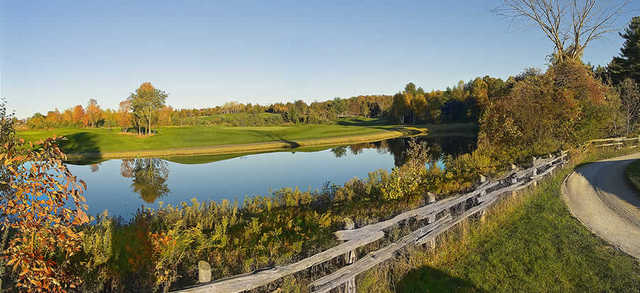 A view from Hawk Ridge GCC - Hawk's Island Course