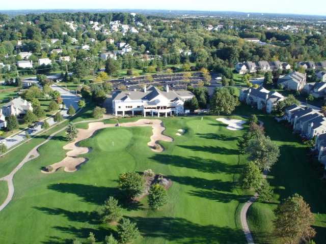 Aerial view from PineCrest Country Club