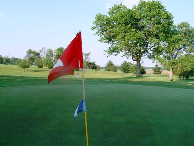 A view from a green at Deer Valley Golf Course