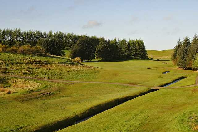 View from the 2nd hole at East Renfrewshire Golf Club