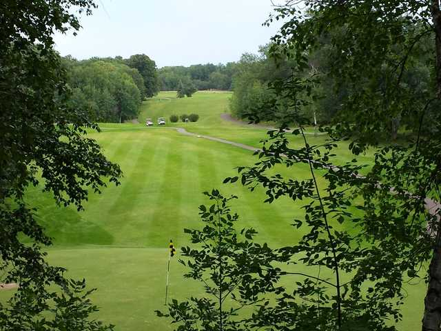 A view of a green at Northwood Hills Golf Course