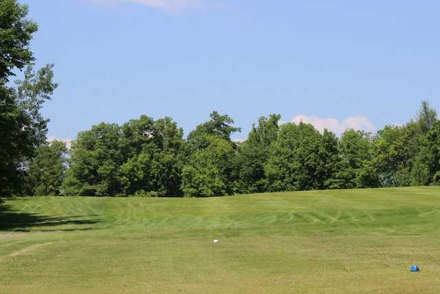 A view from a tee at Northwood Hills Golf Course