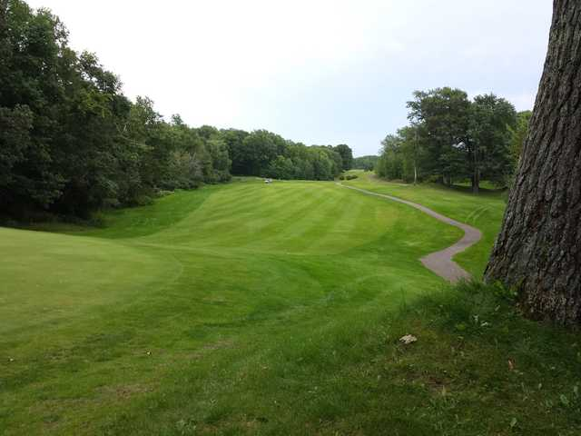 A view of a fairway at Northwood Hills Golf Course