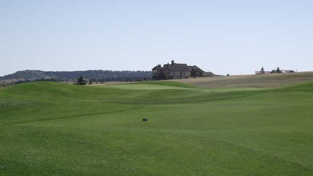 A view of the 12th hole at King's Deer Golf Club