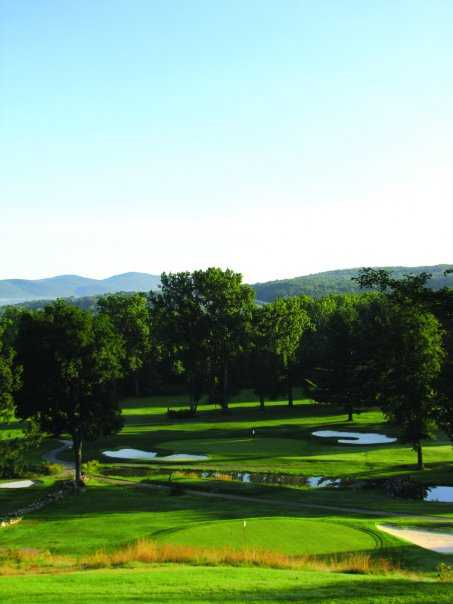 A view from Mt Anthony Golf & Tennis Club