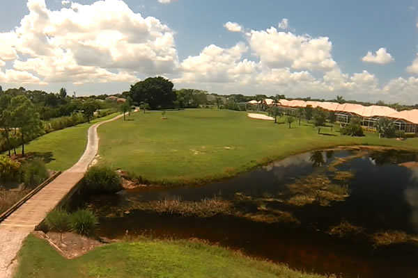 A view over the water from Westminster Golf Club