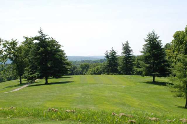 A view of a fairway at Dearborn Country Club (Doris Smith)