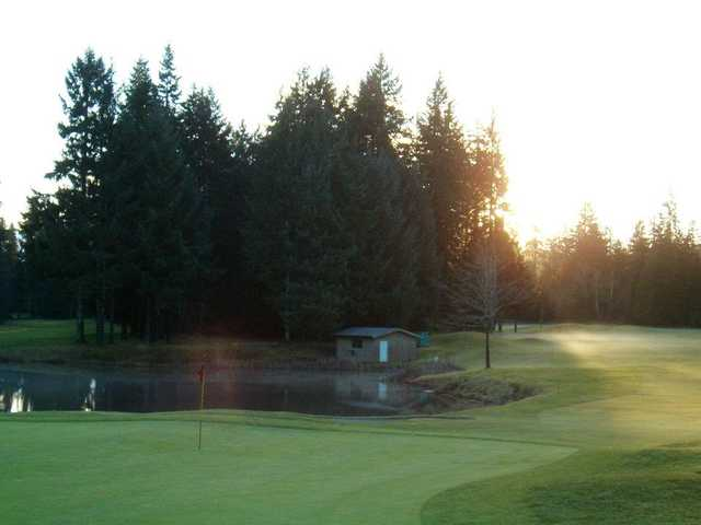 A view of a hole at Storey Creek Golf Club