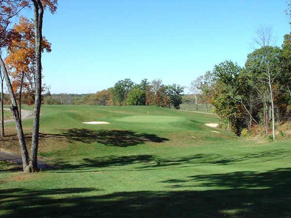 Fairway and green at Split Rock Golf Club
